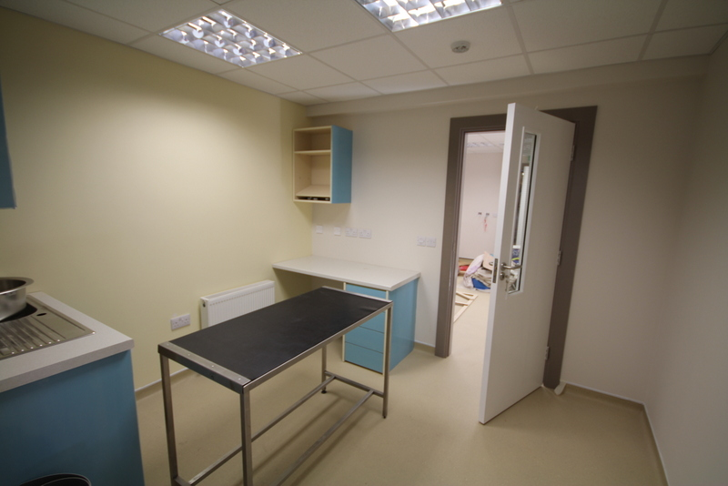 One of BrayVet's five consulting rooms
